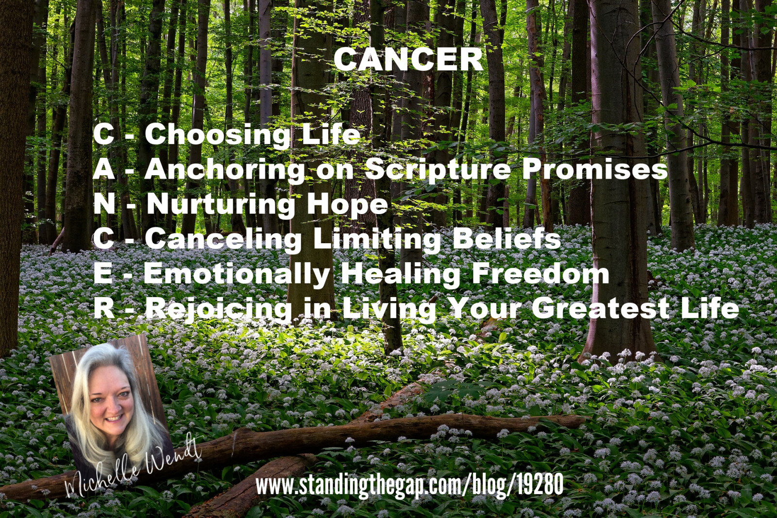 Acrostics Challenge for my book on Cancer Hope and Support when Modern Medicine is Not Enough.