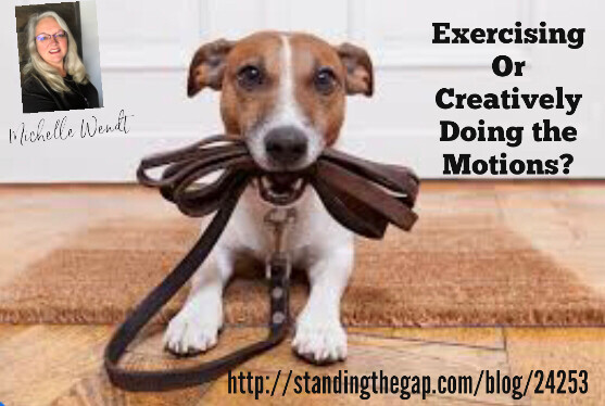 Exercising or Creatively doing the motions?