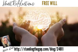 Heart Reflections:  FREE WILL