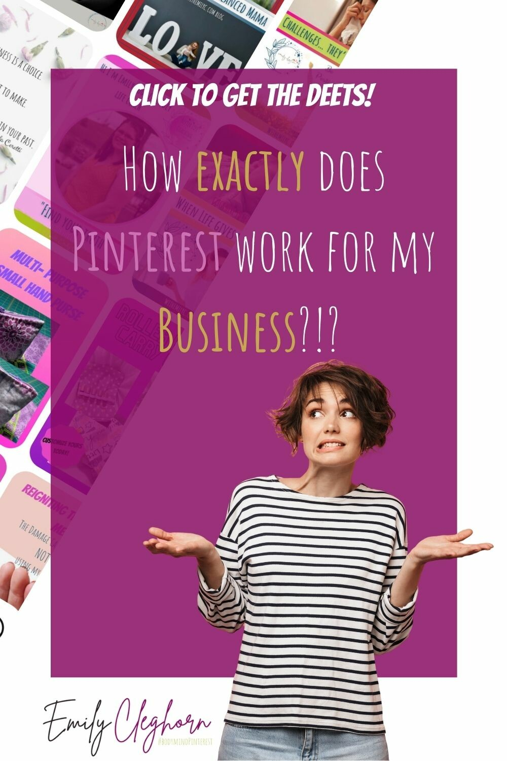 How exactly does Pinterest work for my Business?!?