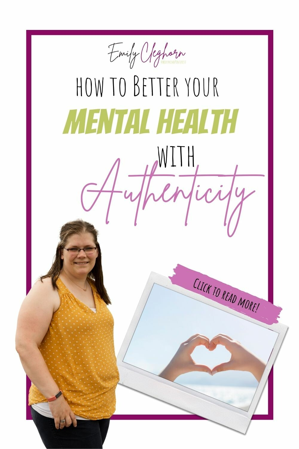 How to Better your Mental Health with Authenticity