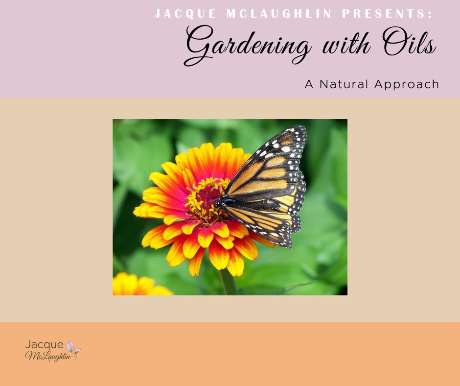 Natural Gardening with Essential Oils!