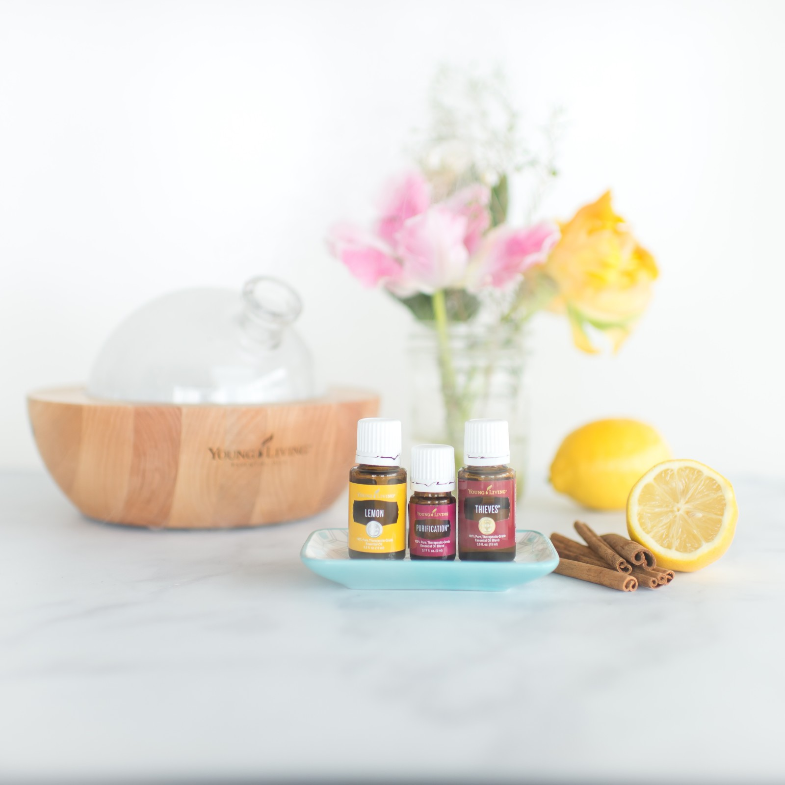 Bring the Freshness of Spring into Your Home with 3 Diffuser Blends You Can Try This Week!