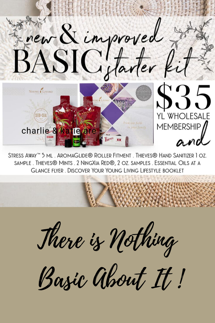 The  New  Young Living Basic Starter Kit- There's Nothing Basic About It!