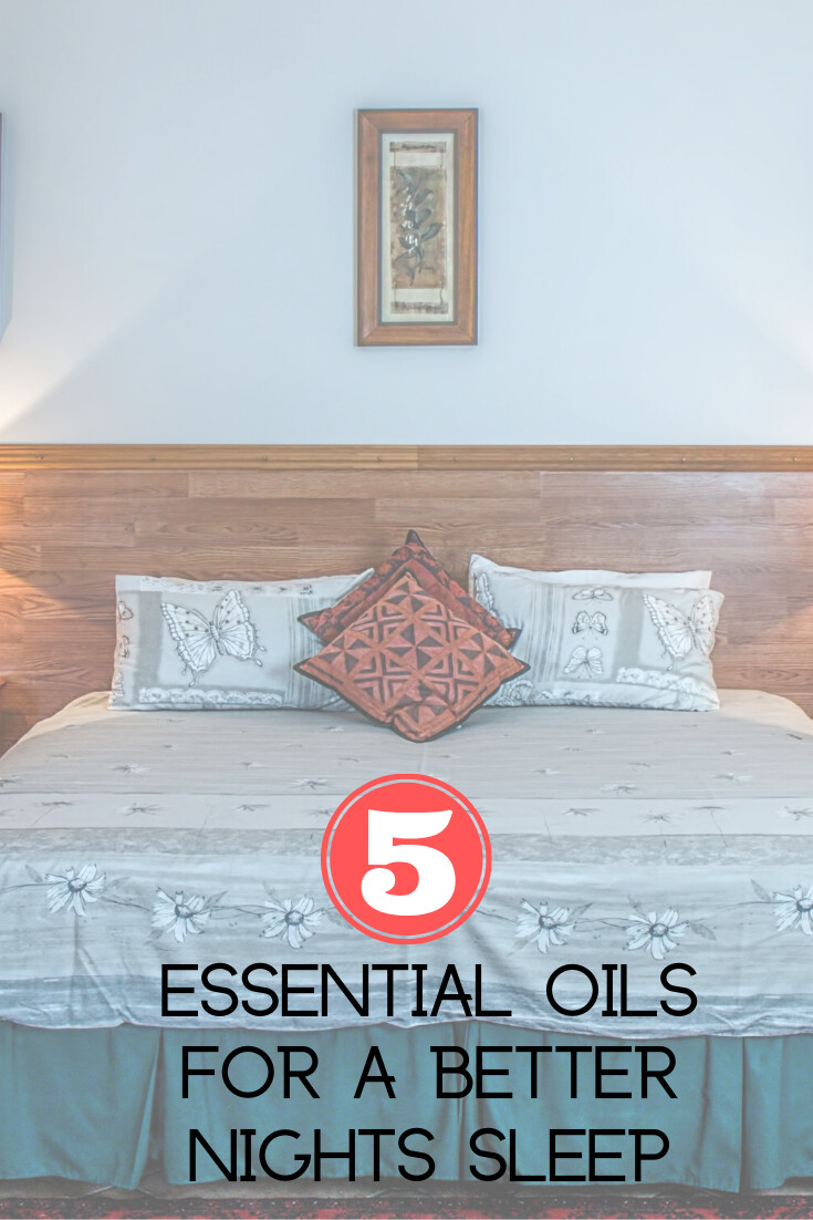 5 Essential Oils To Help You Sleep Like A Baby