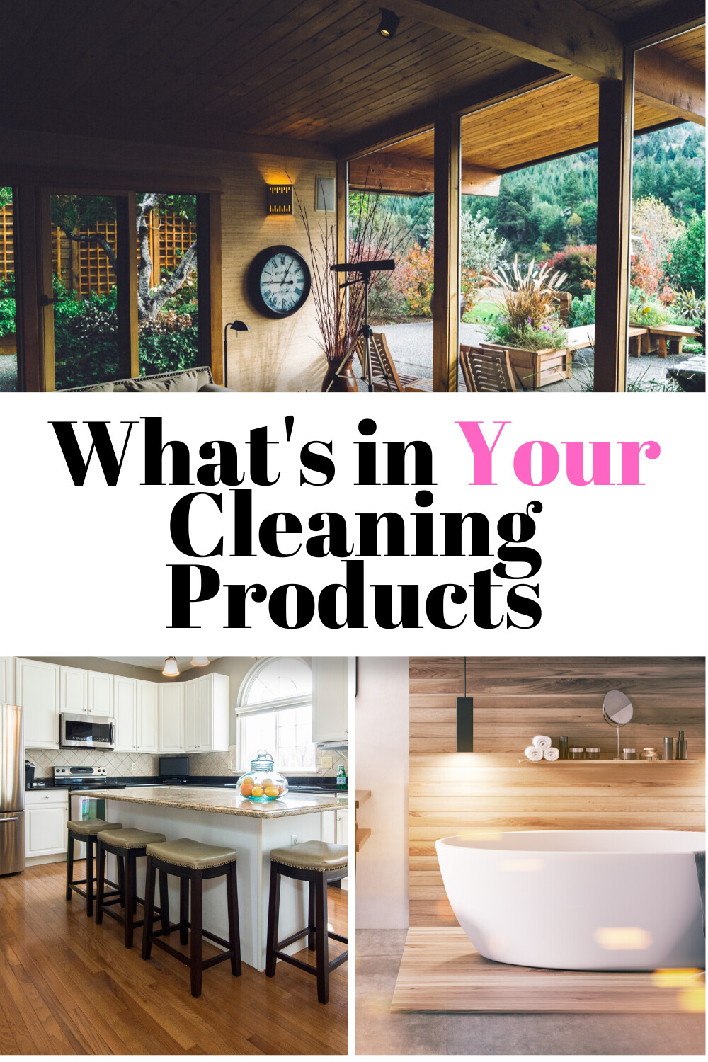What's In Your Cleaning Products? ( Video)