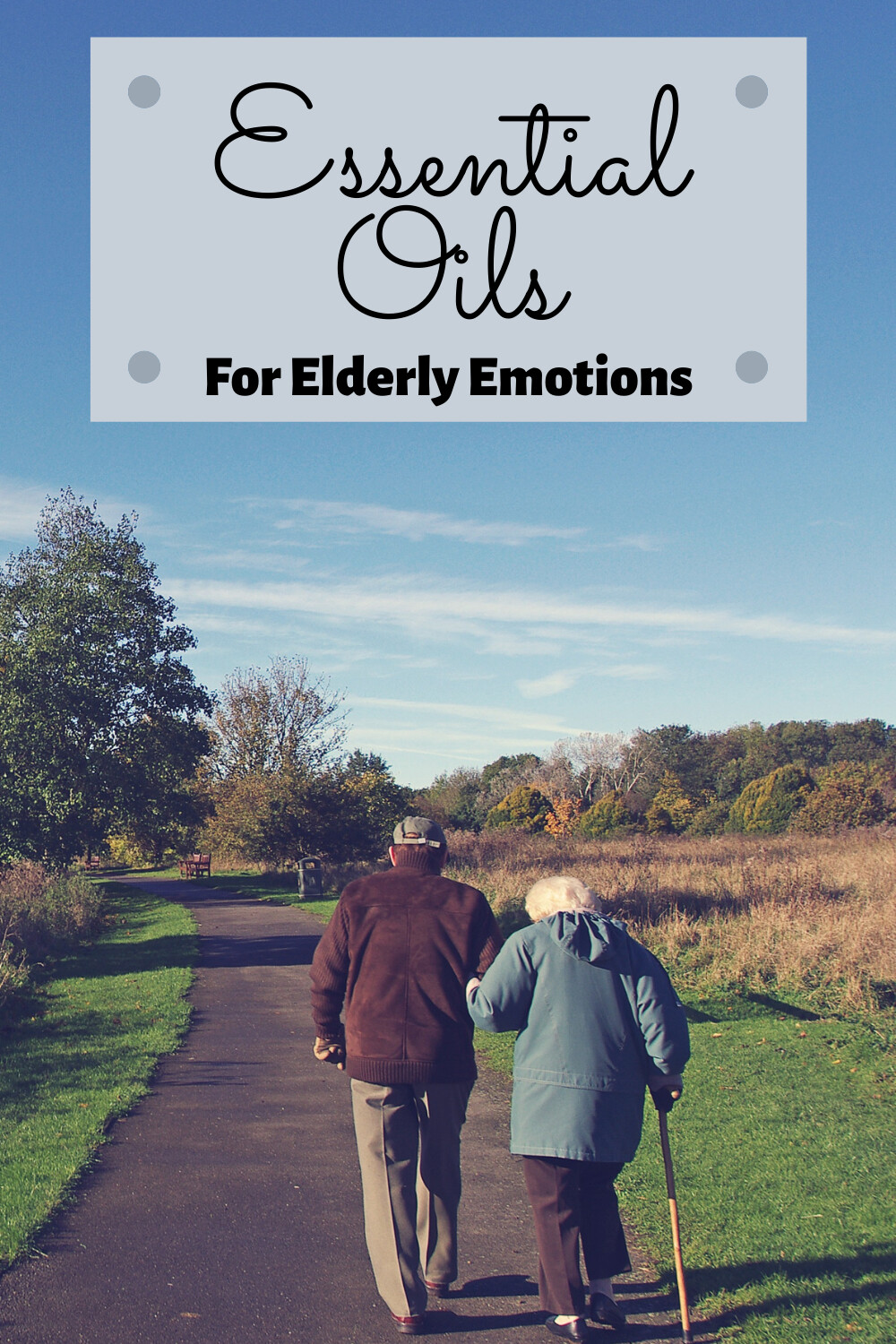Essential Oils For Elderly Emotions