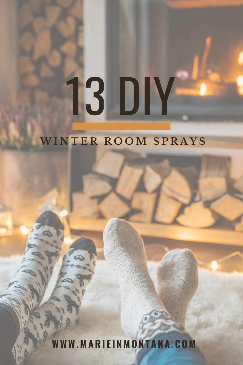 13 DIY Winter Room Sprays