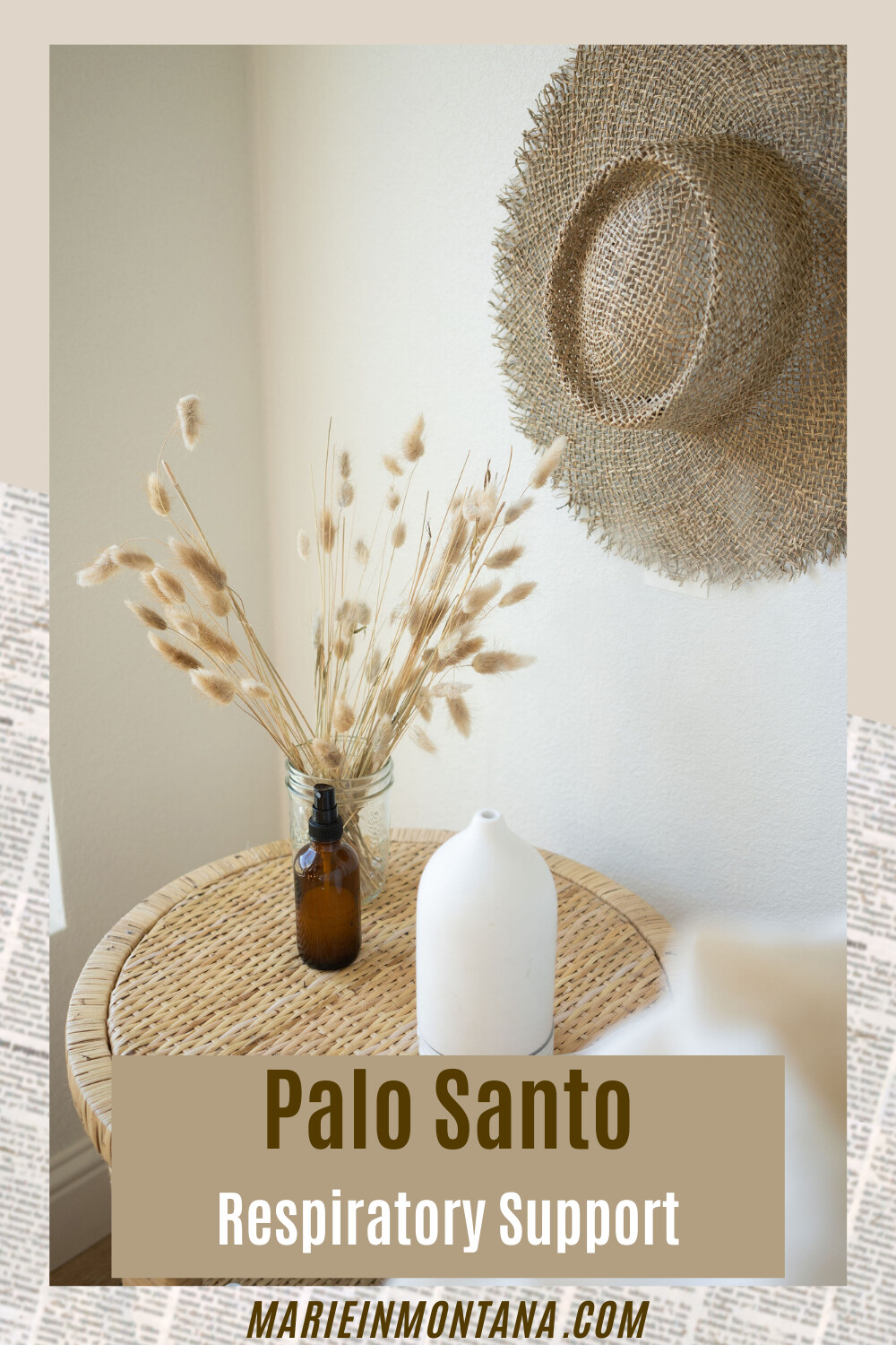 Palo Santo For Respiratory Support