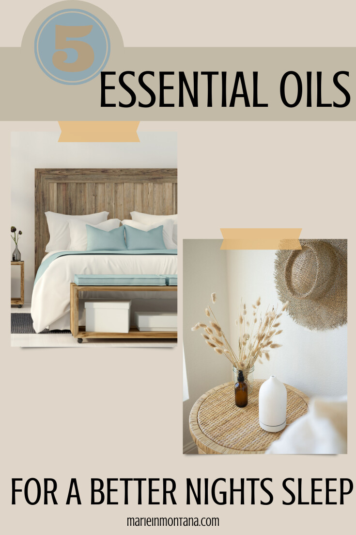 5 Best Essential Oils For A Better Nights Sleep
