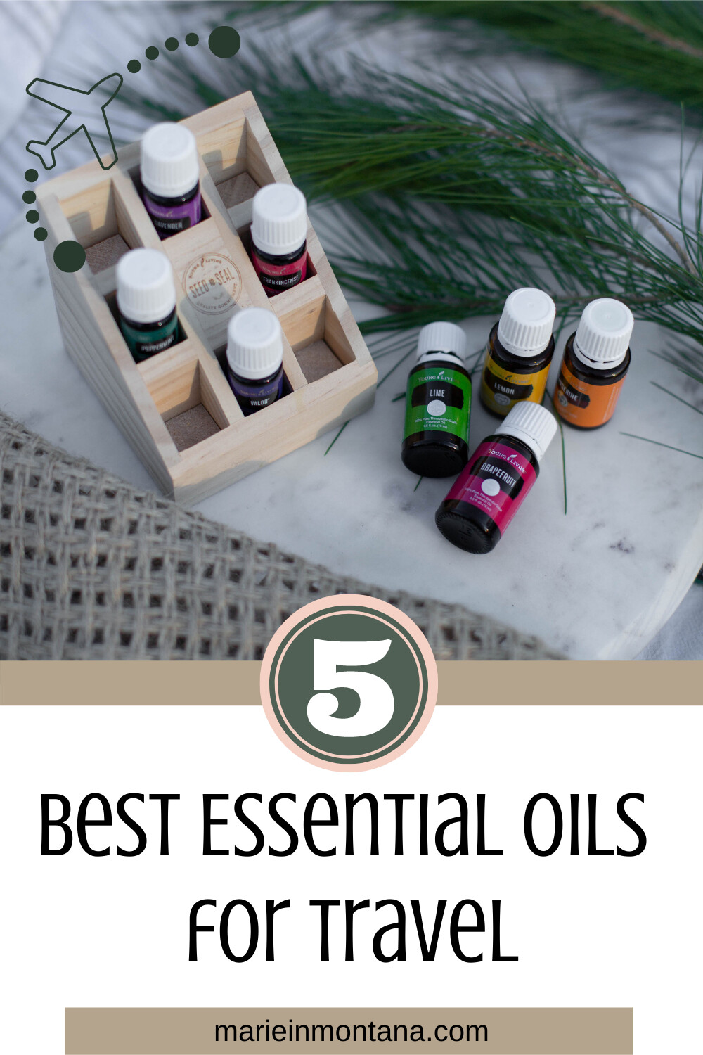 5 Best  Essential Oils For Traveling