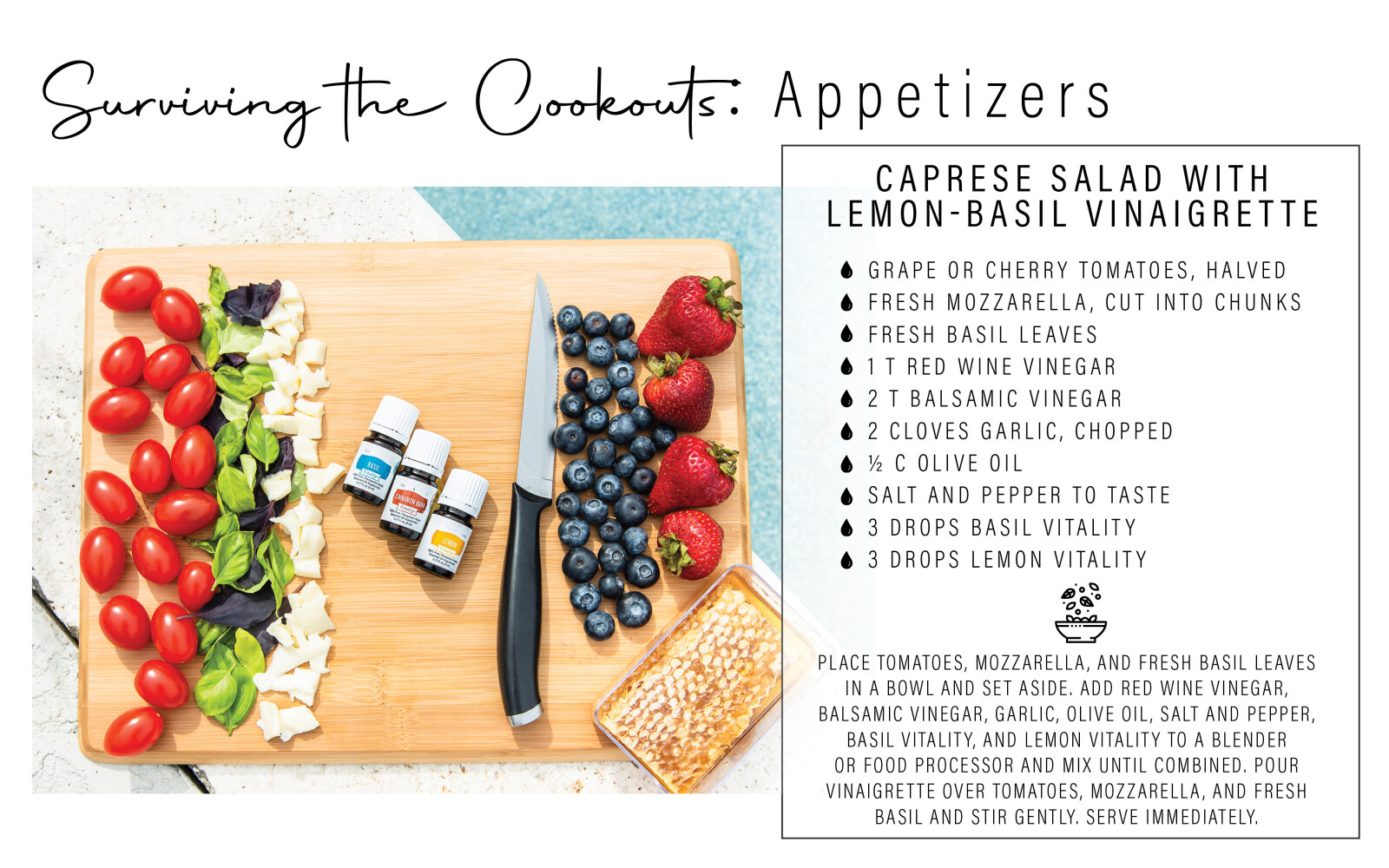 Surviving The Cookouts : Appetizers