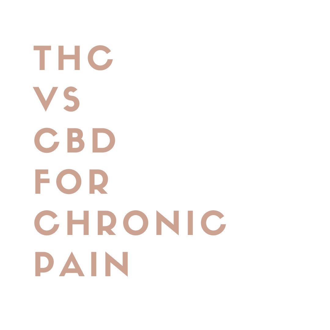 THC versus CBD for Chronic Pain