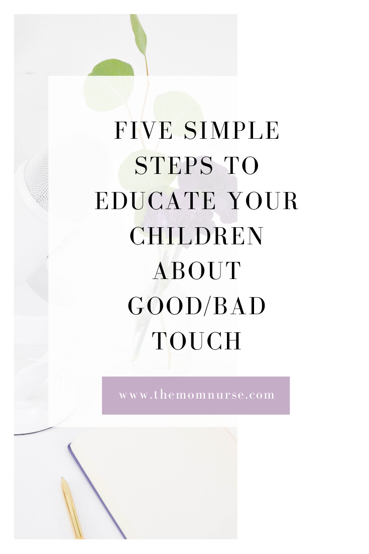 Five Simple Steps to Educate your Children about Good/Bad Touch