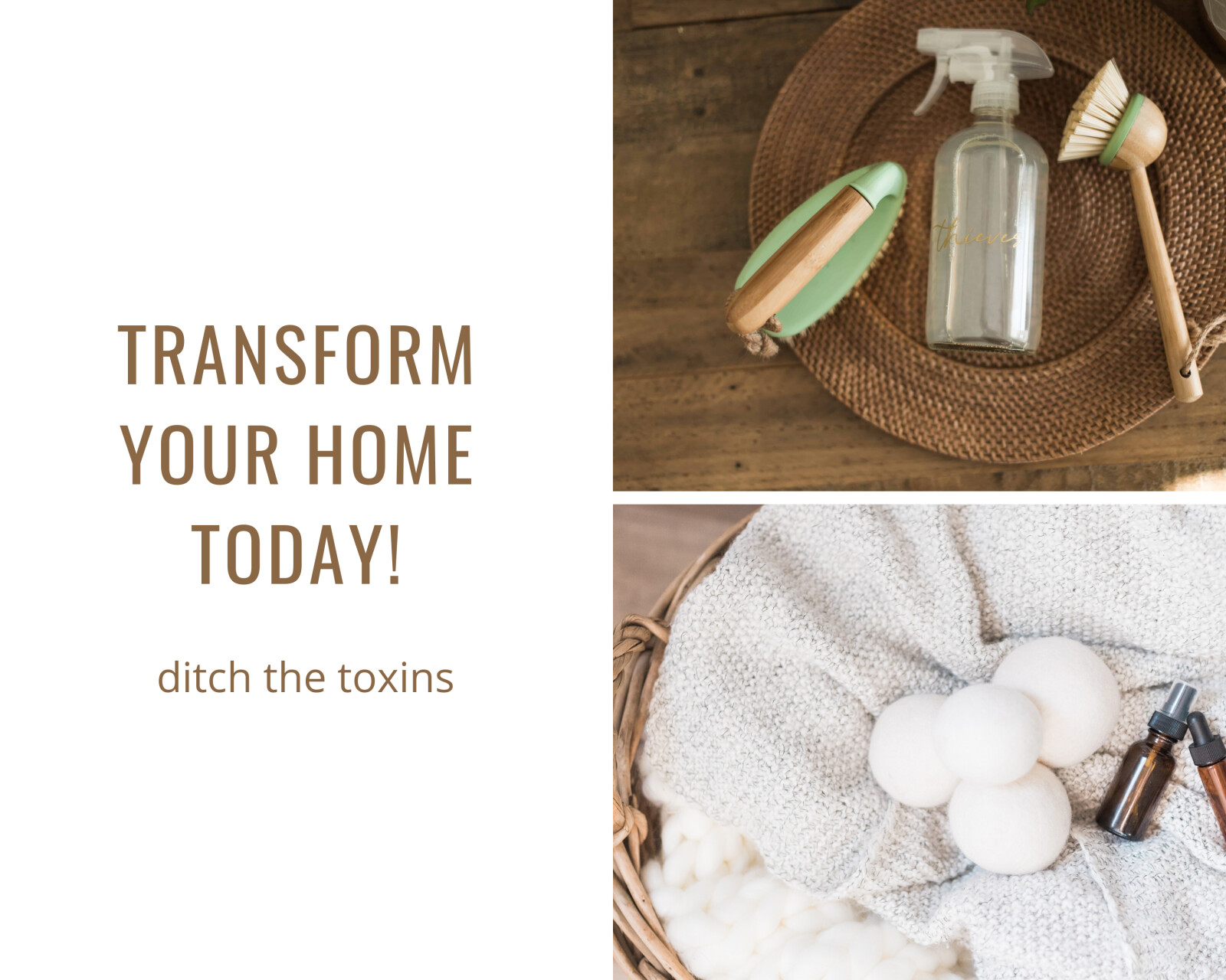 Make a change and Transform your Home-