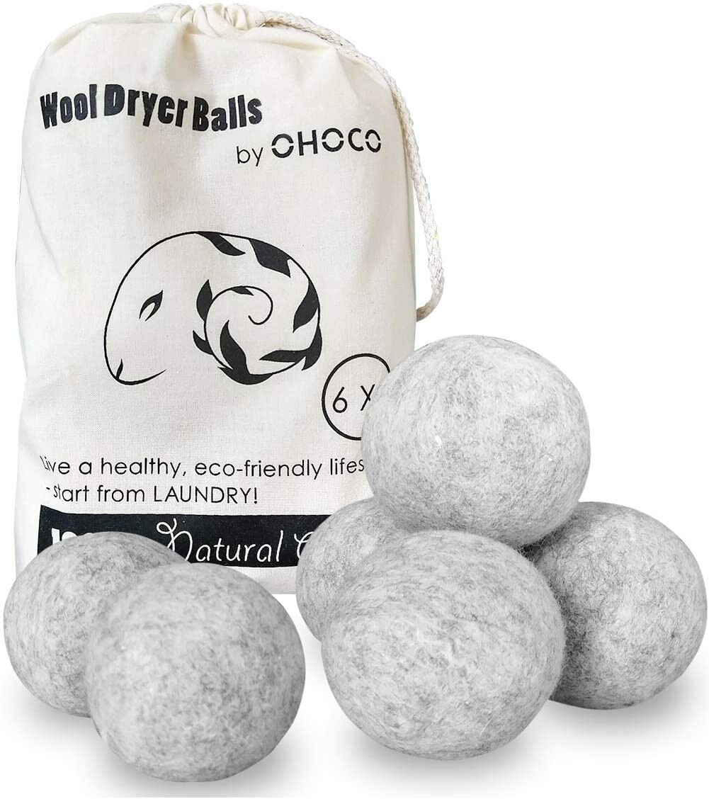 Save Money and Breathe better with Wool Dryer Balls!