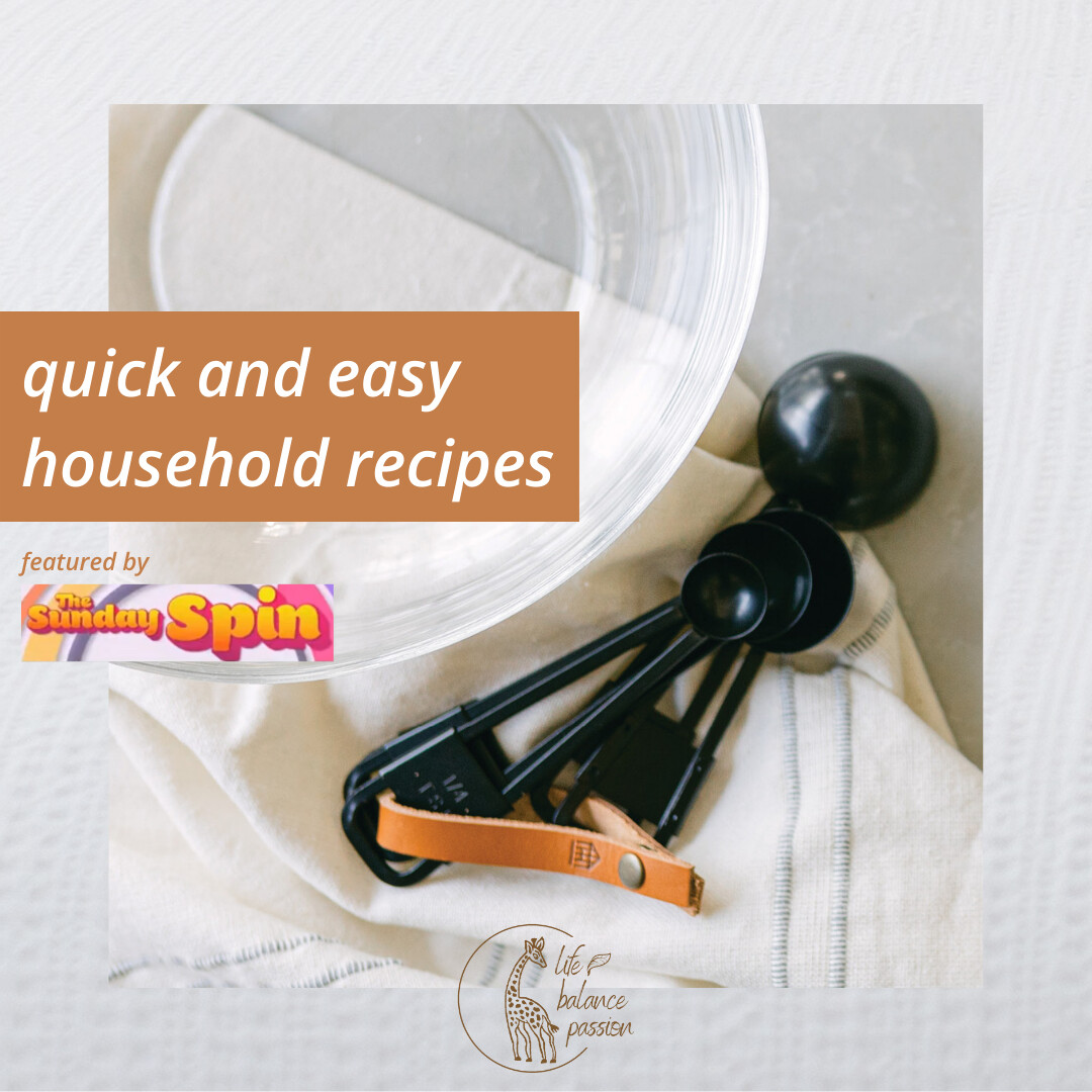 quick and easy 1 ingredient laundry recipes