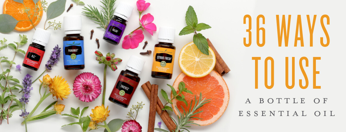 36 Ways to Use Essential Oils