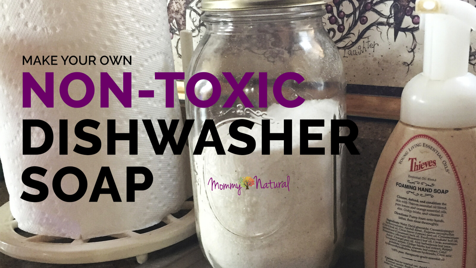 DIY Non-Toxic Dishwasher Soap