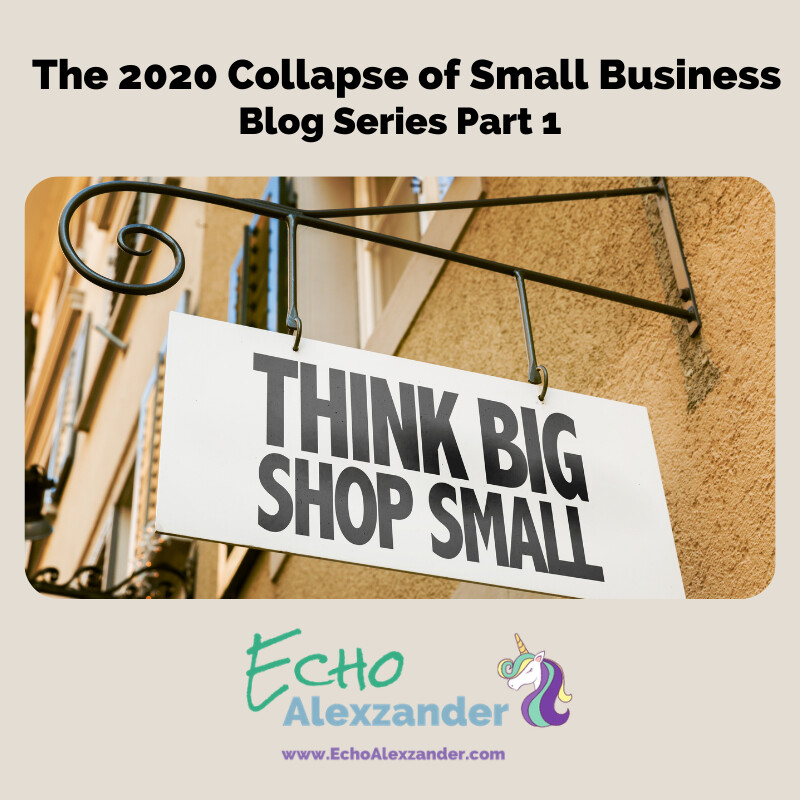 The 2020 Collapse of Small Business - Series Part 1
