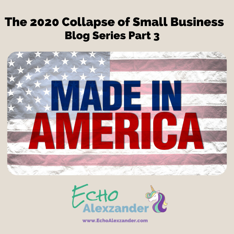 The 2020 Collapse of Small Business - Series Part 3