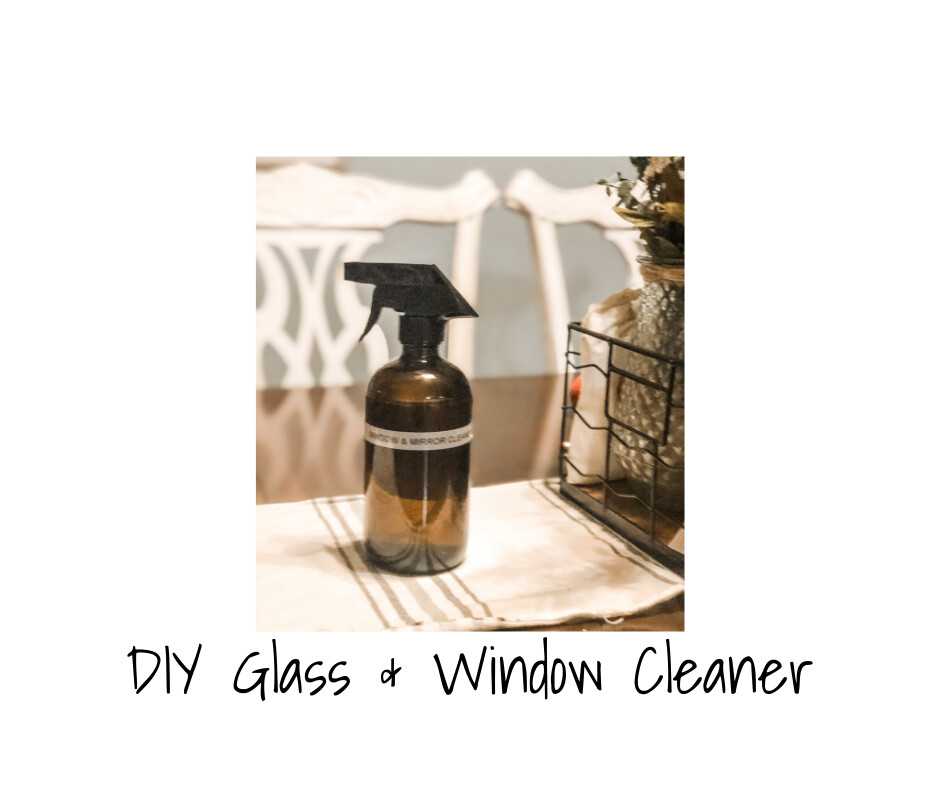 DIY Glass & Window Cleaner