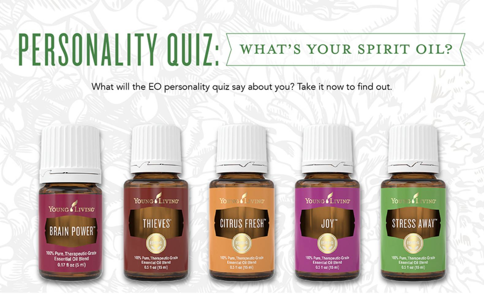 Whats Your Essential Oil Match???