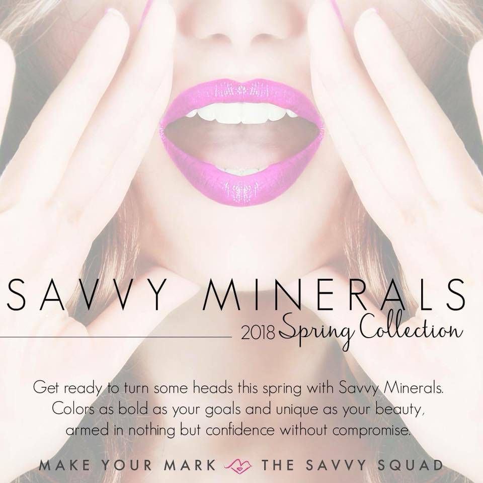 New Make Up - SAVVY MINERALS check the catalog