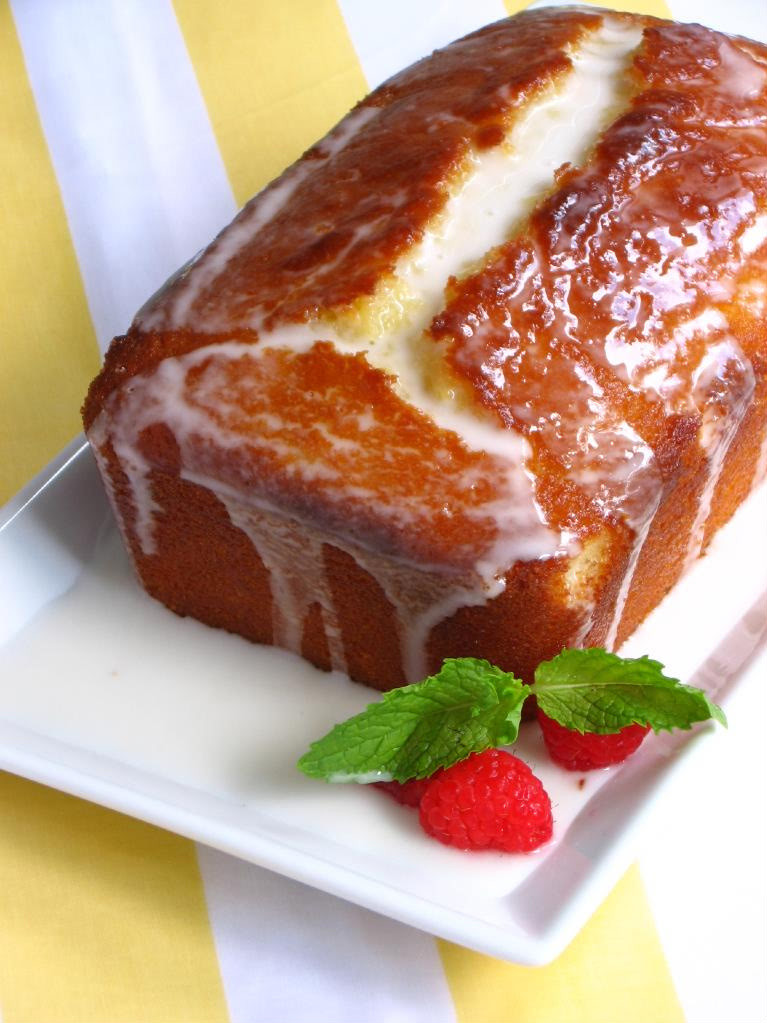 LEMON VITALITY LOAF CAKE