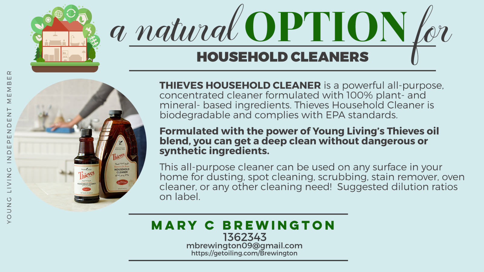 Give Household Chemicals the Boot!