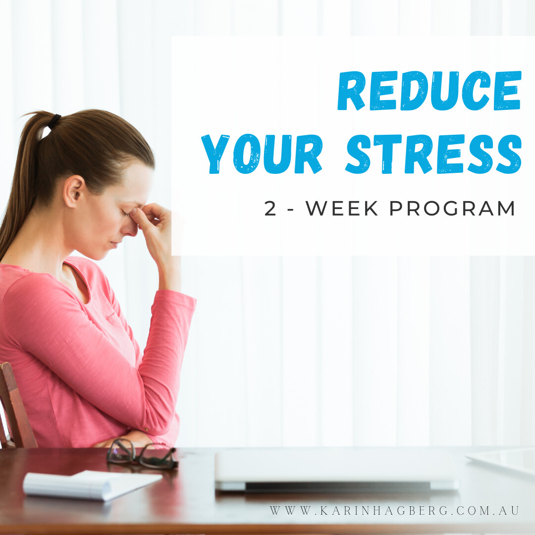Reduce Your Stress - 2 week Habit Coaching Program