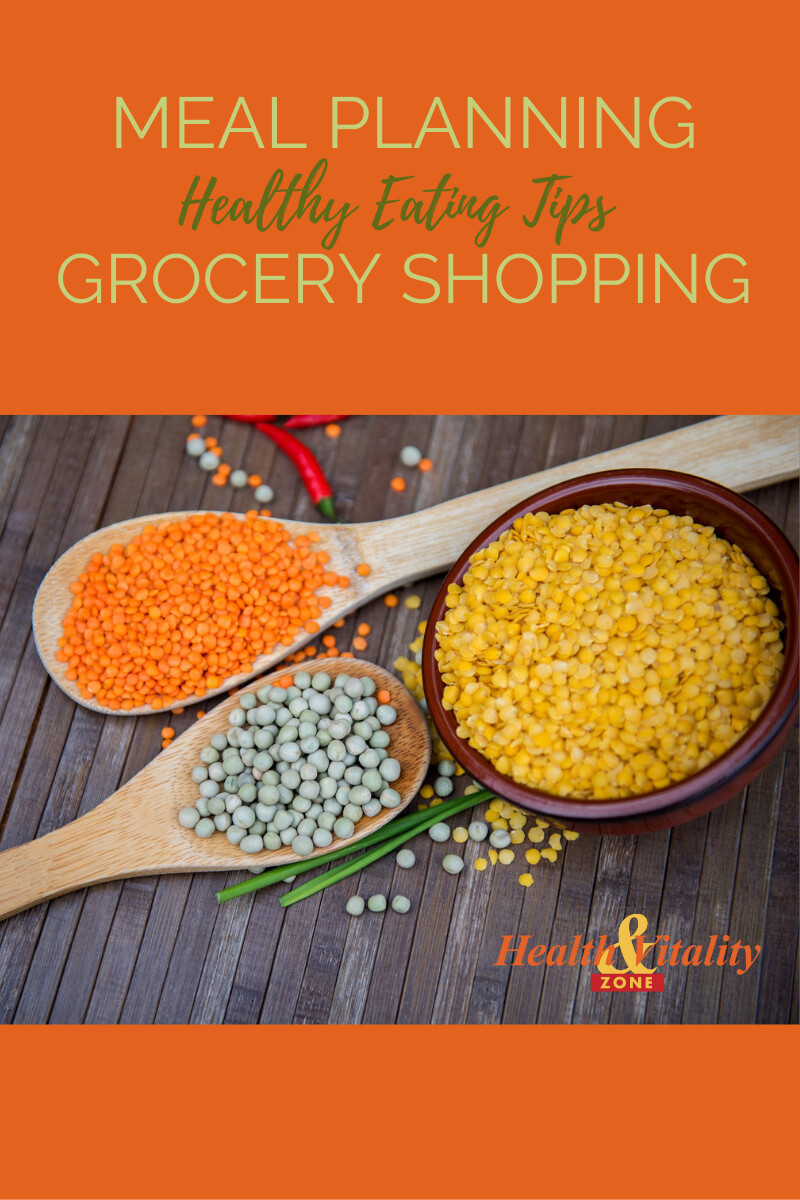 Meal Planning, Grocery Shopping and Healthy Eating Tips
