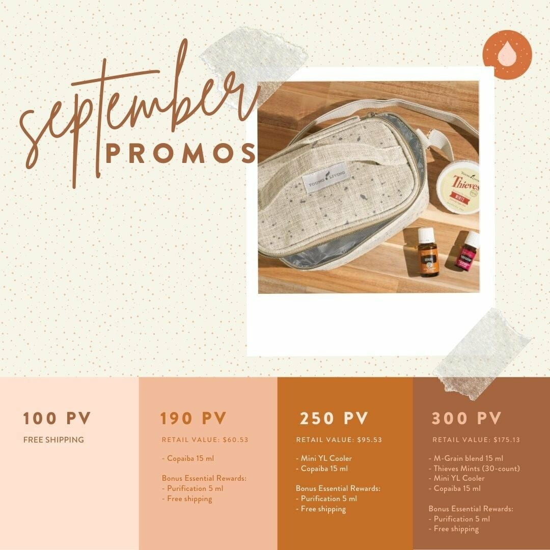 Young Living September Promos!!!