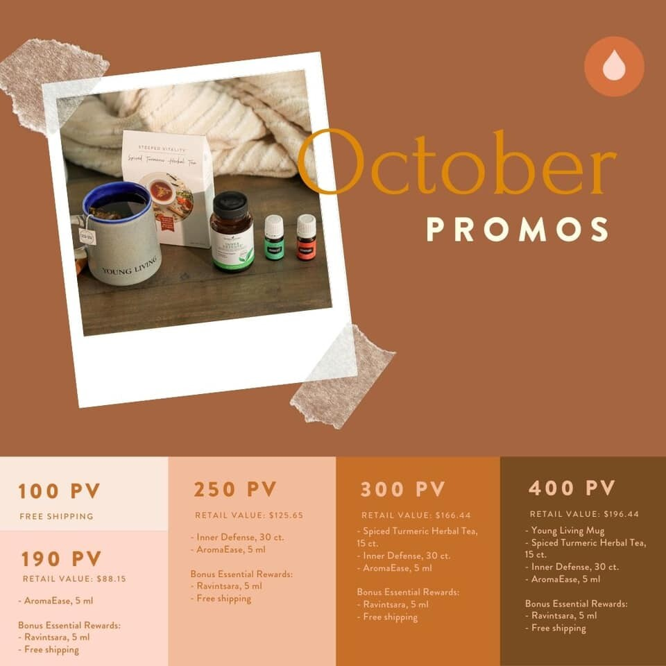 October Promos are Here!!!
