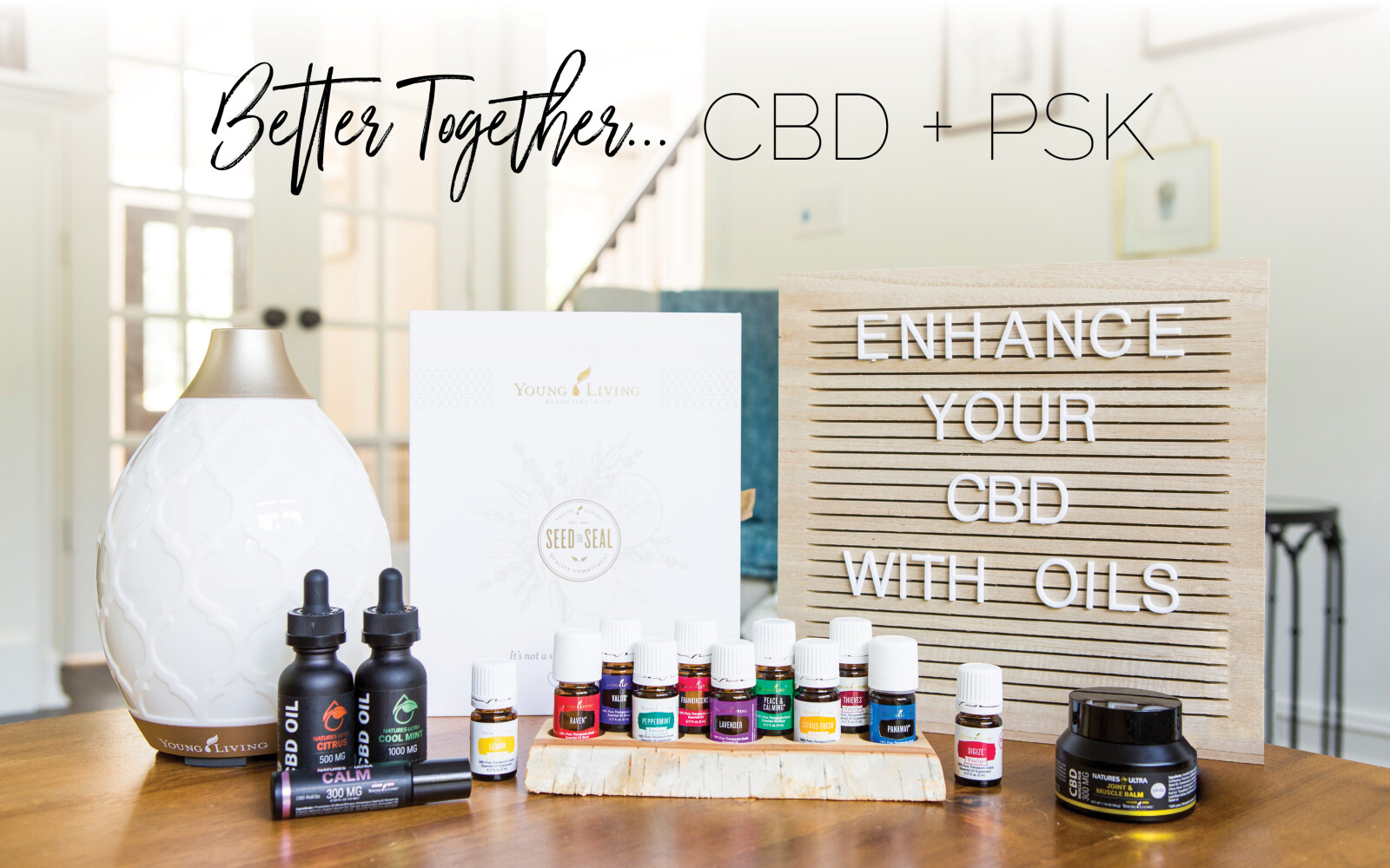 CBD -- Essential Oils Starter Kit