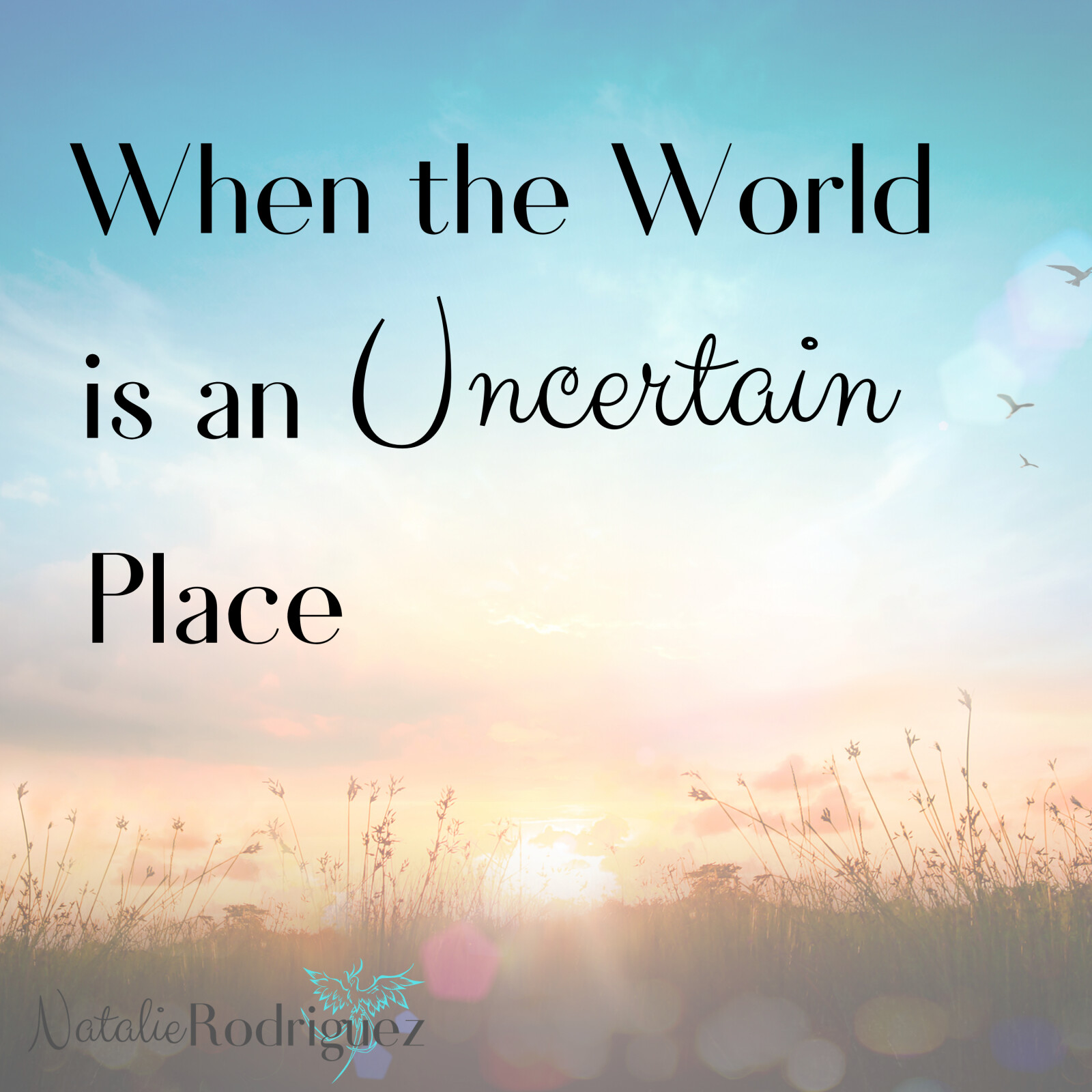 When the World is an Uncertain Place