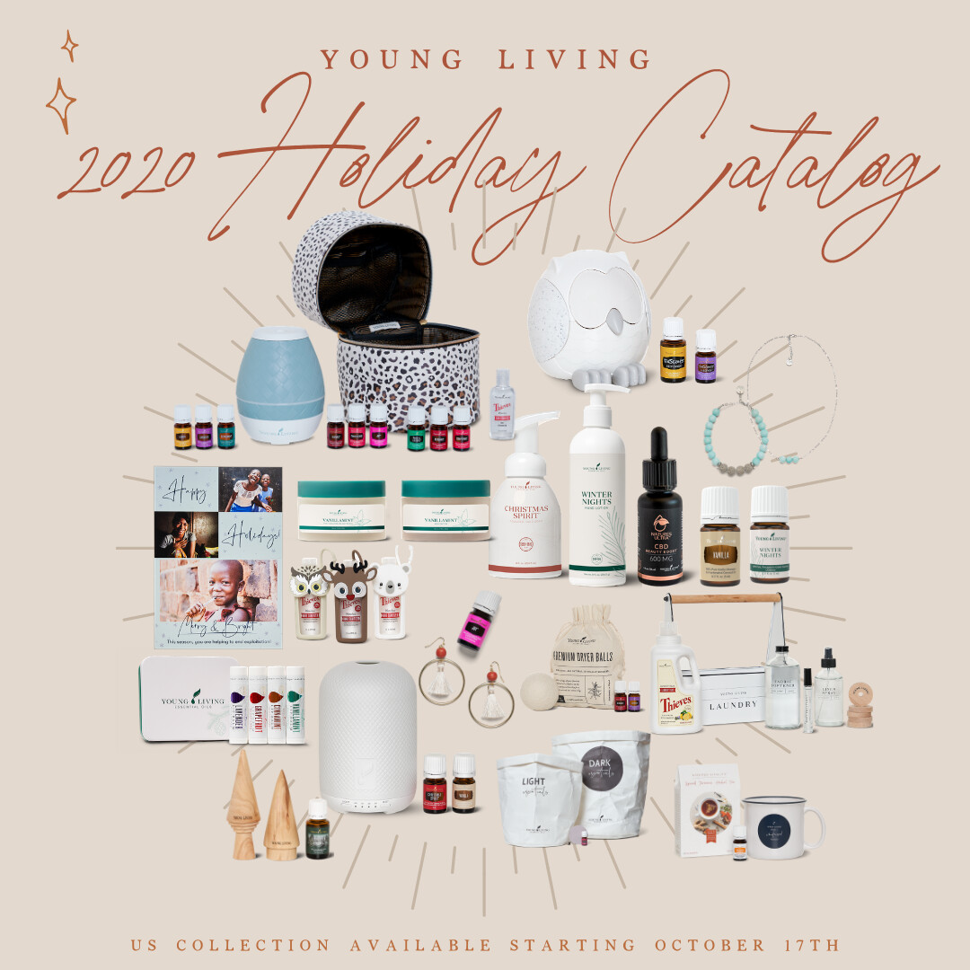 2020  Young Living Holiday Catalog is HERE!!