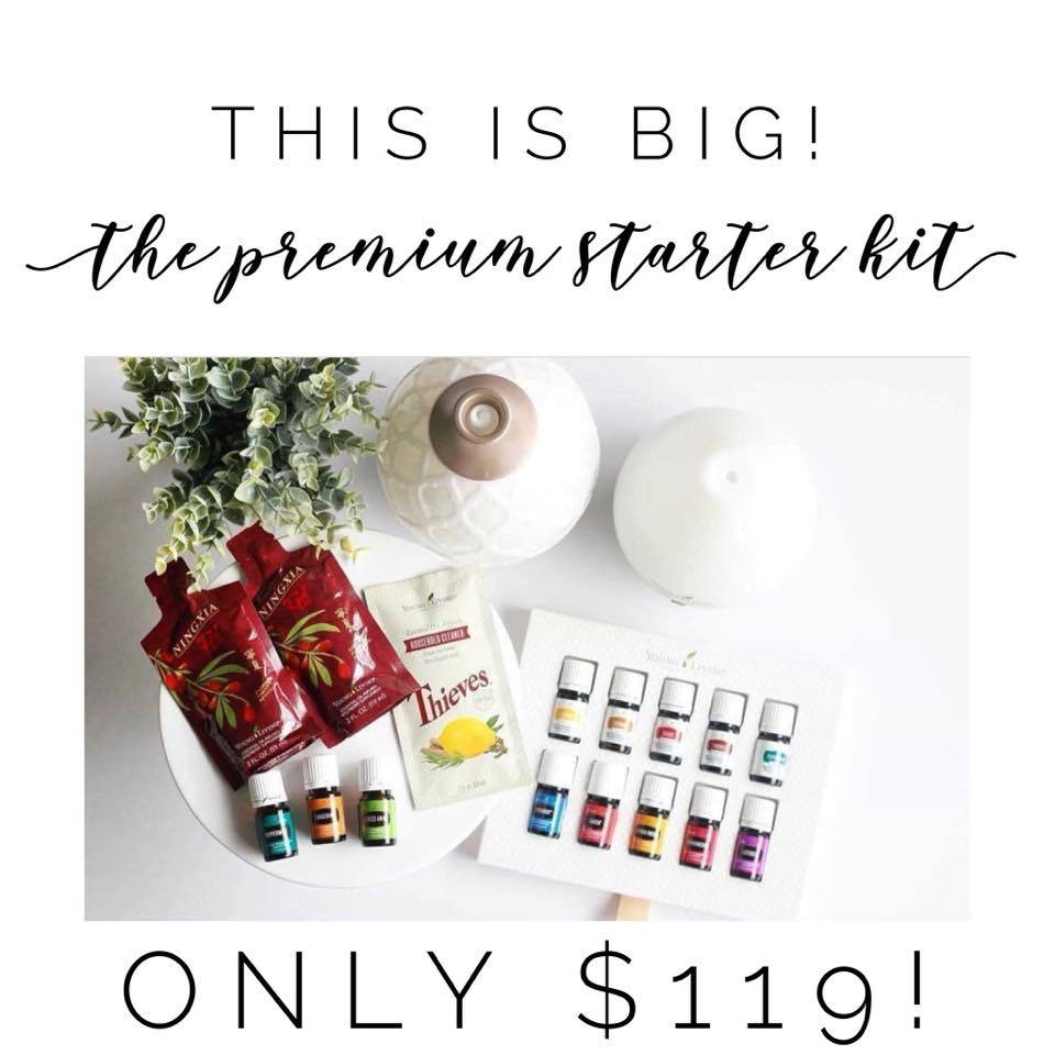 $119 Starter Kit Until 5/25/18 at 11:59 MT ❤️
