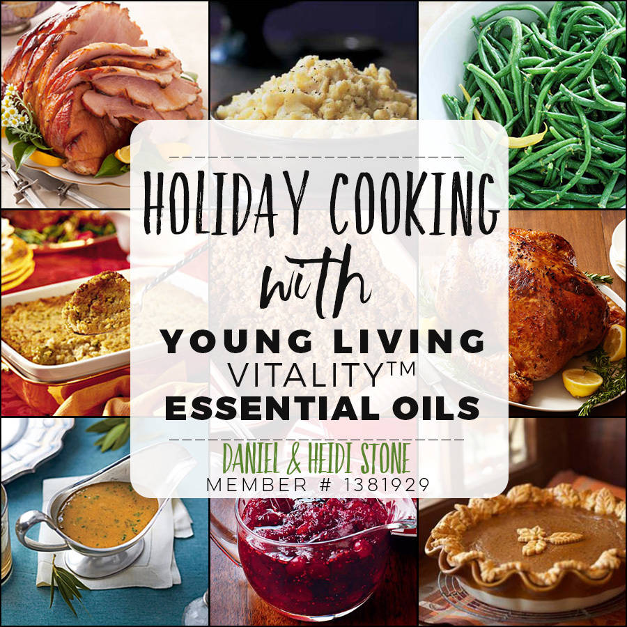 Spice Up your Holiday Cooking with Essential Oils!