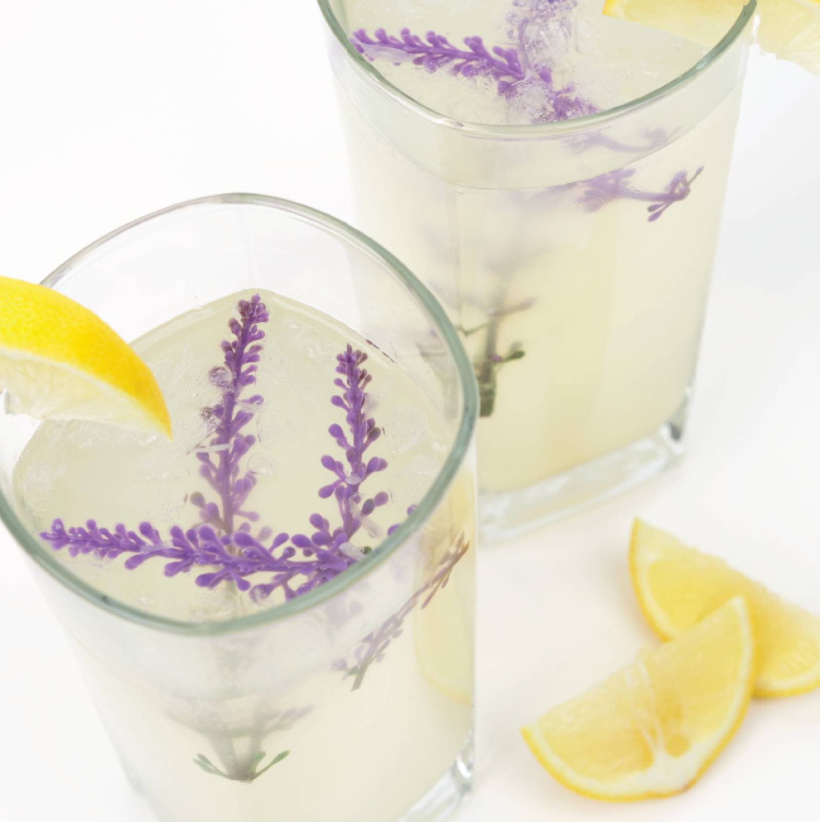 Honey Lavender Lemonade