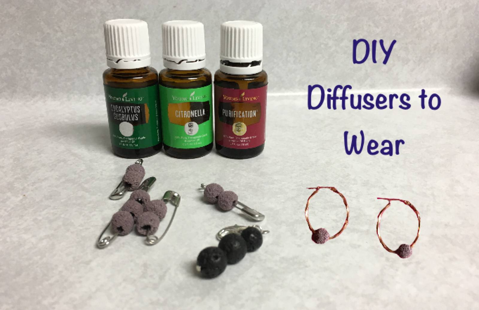 DIY Diffusers to wear Outdoors . . .