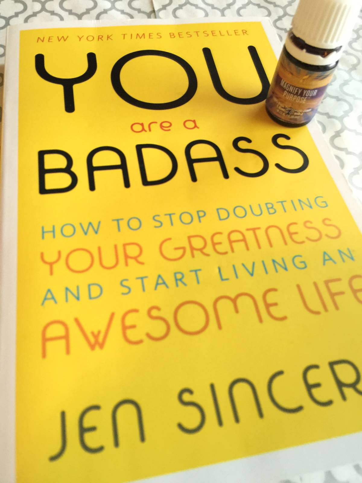 "Go find your inner ""Badass""!"